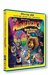 Madagascar 3 : bons baisers d'europe - Blu-ray 3D [Blu-ray]
