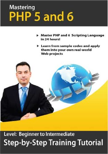 PHP 5.0/6.0 Step-by-Step Training CD Course