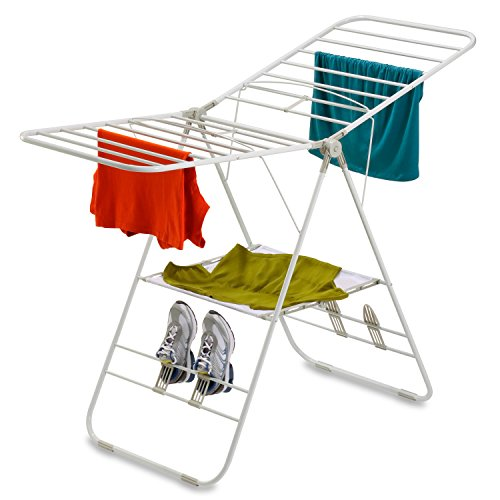 Honey-Can-Do DRY-01610 Heavy Duty Gullwing Drying Rack, White (Honey Can Do compare prices)