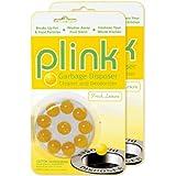 Plink Garbage Disposal Cleaner and Deodorizer, Original Fresh Lemon Scent, Value 2-Pack for 20 Cleanings
