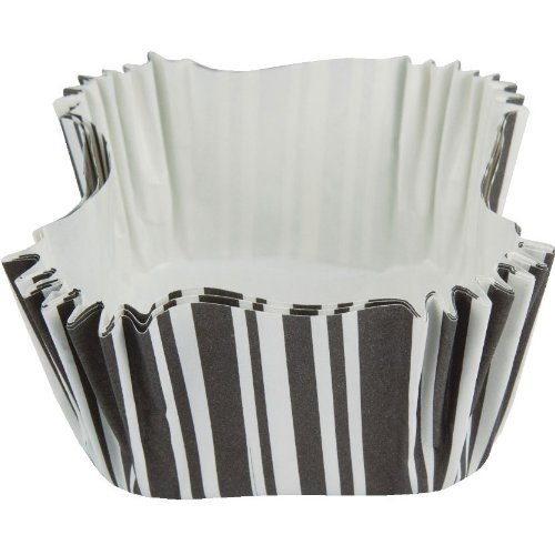 Black Velvet Square Baking Cups (12ct)