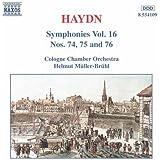 Haydn: Symphonies, Vol. 16 (Nos. 74, 75, 76)
