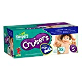 Pampers Cruisers Dry Max Diapers, Size 5, 88 Count ~ Pampers