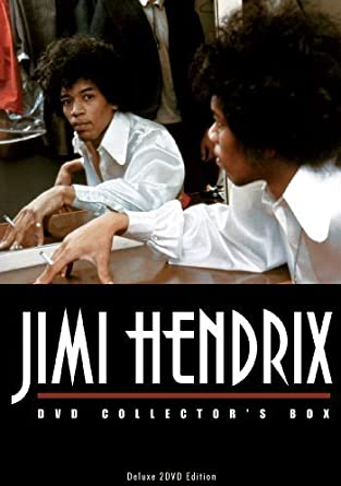 Jimi Hendrix DVD Collector's Box: Unauthorized