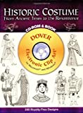 Historic Costume CD-ROM and Book: From Ancient Times to the Renaissance