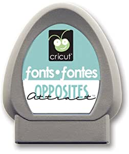 Cricut 29-0227 Opposites Attract Font Cartridge
