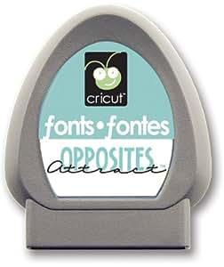Cricut 29-0227 Opposites Attract Font Cartridge