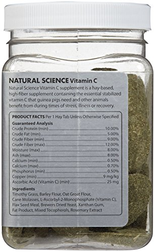 Oxbow-Natural-Science-Vitamin-C-Supplement-60-tabs-120g