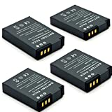Henweit EN-EL12 Li-ion Battery - ENEL12 digital camera battery 3.7V 1150MAH nikon S610/S610C/S710 coolpix