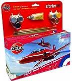 Airfix A55202 Red Arrow BAe Hawk 1:72 Scale Model Medium Starter Set