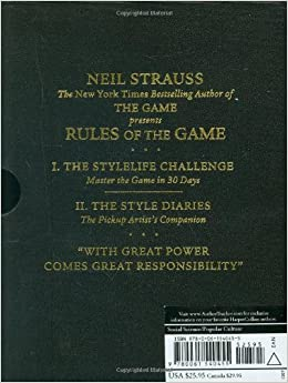rules of the game neil strauss audiobook download