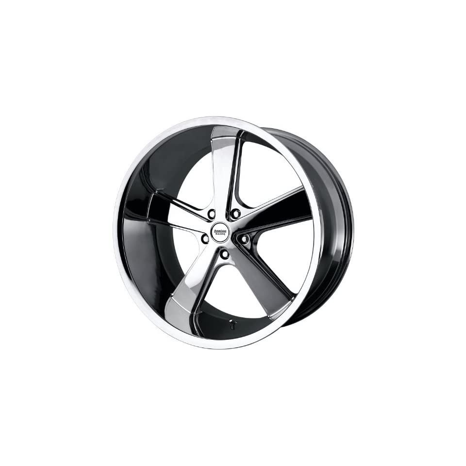 American Racing Vintage VN701 16 Chrome Wheel / Rim 5x4.75 with a 0mm Offset and a 72.6 Hub Bore. Partnumber VN70168034200 Automotive