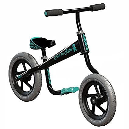 Go-Kiddo BIKEE Balance Bike, Black by Go-Kiddo