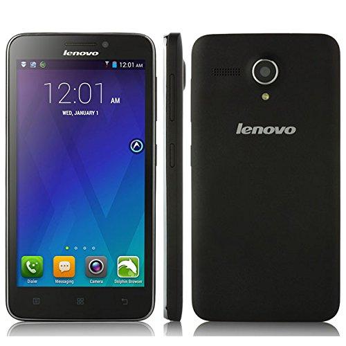 Lenovo A606 Smartphone 4G Lte Android 4.4 Mtk6582 Quad Core 5.0 Inch Black