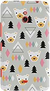 lumia 1320 back case cover ,Bear Geometric Winter Designer lumia 1320 hard back case cover. Slim light weight polycarbonate case with [ 3 Years WARRANTY ] Protects from scratch and Bumps & Drops.