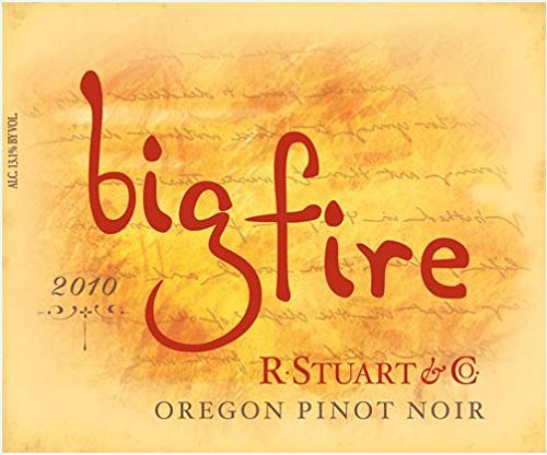 2011 R. Stuart & Co. Big Fire Pinot Noir 750 Ml