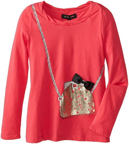 Energie Big Girls' Penny Purse Top with Bow