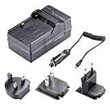 Neewer® 4 In 1 Battery Charger Kit for Canon LP-E6 Battery with US/EU/UK Plug and Car Adapter for Battery Grip BG-E6, BG-E11, BG-E13, BG-E7, BG-E9, BG-E14 Canon EOS 5D Mark III, 5D Mark II, 6D, 7D, 70D, 60D, 60Da