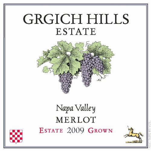 2009 Grgich Hills Estate Napa Valley Merlot 750 Ml