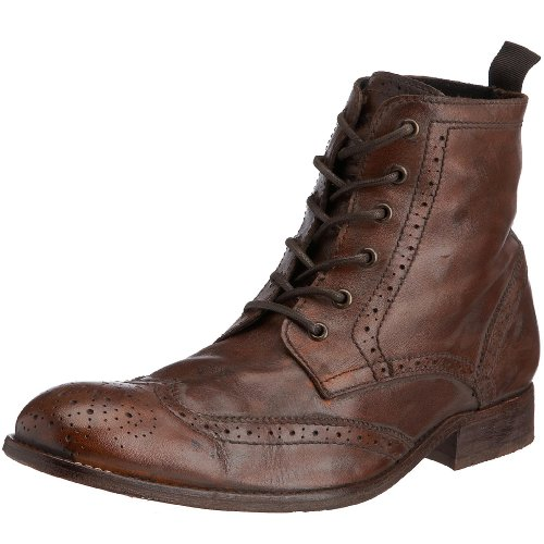 H By Hudson Men's Angus Boot Tan 2904240 10 UK