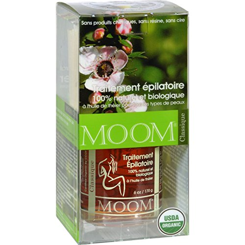Moom Organic Hair Removal Kit with Tea Tree Classic - 1 Kit