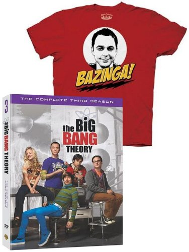 The Big Bang Theory: The Complete Third Season (DVD Fan Pack with