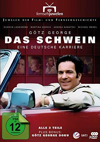 Das Schwein - Eine deutsche Karriere (plus Bonus: Götz George Doku) [3 DVDs]