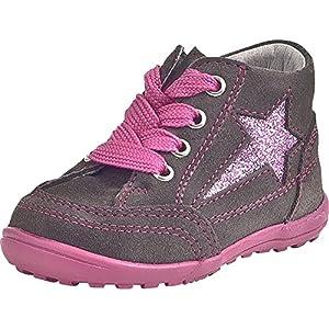Richter Kinderschuhe Mini - Zapatos primeros pasos de cuero para niña por Richter Kinderschuhe en BebeHogar.com