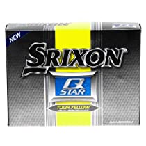 Srixon Q Star Tour Yellow Golf Balls