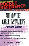 Audio/Video Cable Installer's Pocket Guide