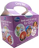 Disney Disney Book and CD Gift Set For Girls 8 Stories Collection RRP: 31.92 (Brave, Beauty and the Beast, Cinderella, Sleeping Beauty, The Little Mermaid, Tinkerbell and the secret of wings, Tinkerbell and the great fairy rescue, Tangled)