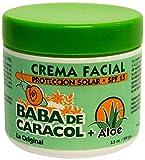 Skin Care Baba De Caracol Snail Slime Facial Cream w/ Aloe 3.5oz
