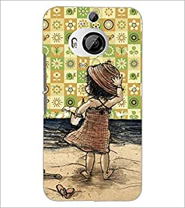 PrintDhaba Cartoon D-4653 Back Case Cover for HTC ONE M9 PLUS (Multi-Coloured)
