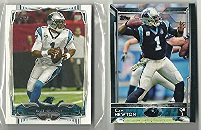 2014 & 2015 Topps Football Carolina Panthers Team Set 27 Cards