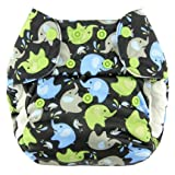 Blueberry One-Size Pocket Diaper