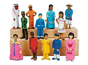 Lakeshore Learning Materials Kids Around The World Block Play People