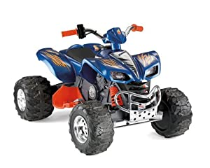 Power Wheels HOT WHEELS Kawasaki KFX, Black Accents