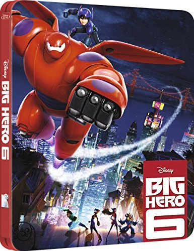 Big Hero 6 3D (Includes 2D Version) - Limited Edition Steelbook Blu-ray
