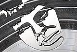 Wanduhr-aus-Vinyl-Schallplattenuhr-Music-Upcycling-Design-Uhr-Wand-Deko-Vintage-Uhr-Wand-Dekoration-Retro-Uhr-Made-in-Germany