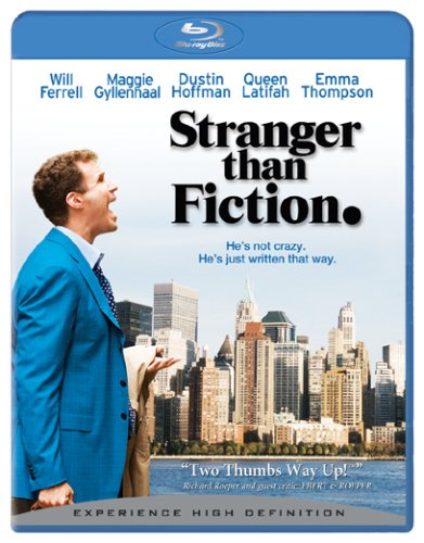 Cover art for  Stranger Than Fiction [Blu-ray]