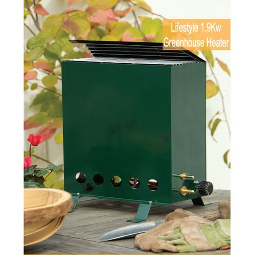Lifestyle 1.9Kw Greenhouse Heater