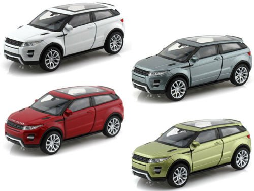 new-132-display-welly-collection-land-rover-range-rover-evoque-diecast-model-car-by-welly-set-of-4-c