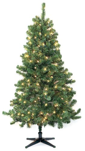 7 5 Ft Sierra Fir Lighted Artificial Christmas Tree