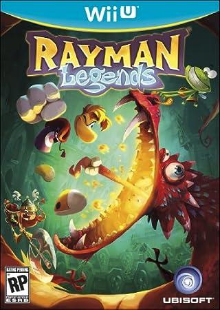 Rayman Legends - Trilingual Wii-U