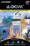 ロックサック(aLOKSAK) 防水マルチケース スマートフォン ラージ(2枚入) ALOKD2-3.75X7