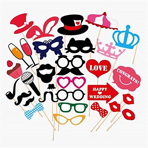 Find Discount Wedding Photo Booth Props new design 2015, wedding decorations, birthday party photo p...
