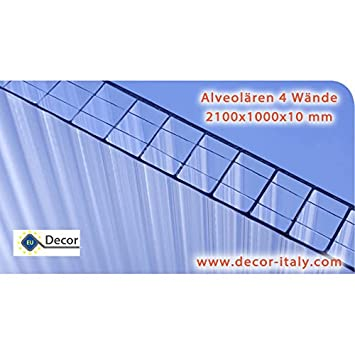 Placa de policarbonato alveolar makrolon multi parede - Placa policarbonato transparente ...