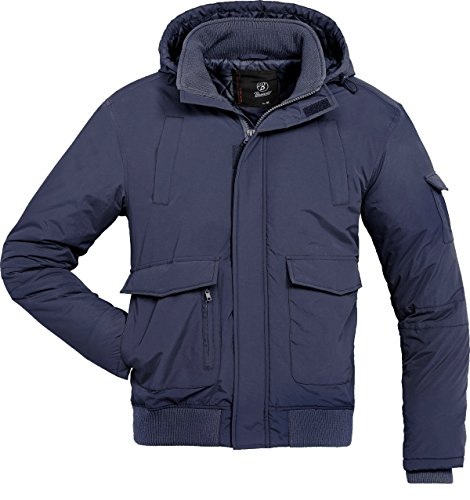 Brandit -  Giacca - Camicia - Basic - Maniche lunghe  - Uomo Blu Blu oltremare