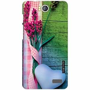 Design Worlds - Intex Aqua 4.5E Designer Back Cover Case - Multicolor Phone C...