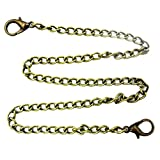 The Lobster Smooth Bag Chain Bronze 31.50 Inch